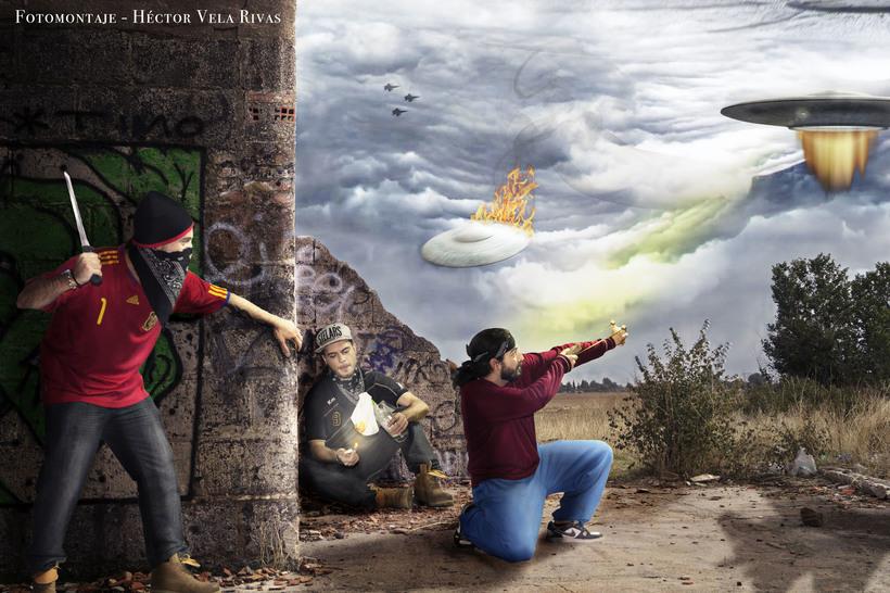 El ataque de los Ovnis